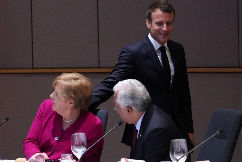 Macron: Euroopa Komisjoni presidendiks passiks kõige paremini Angela Merkel