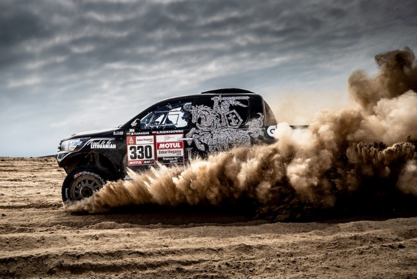 EKSOOTIKA! Rally Estonial on võimalik näha ka 360hobujõulist kõrbemaasturit