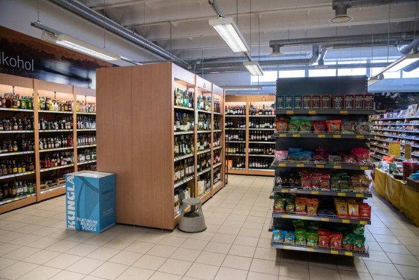 ÕL FOTOD   Kas ja kuidas on kauplused oma alkoholileti ära varjanud?