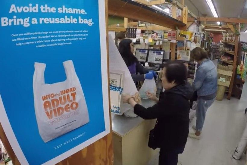 HUVITAV PLAAN: toidukauplus müüb piinlikke kilekotte, et loodust säästa