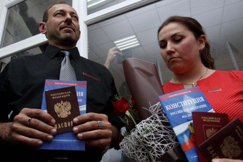 Esimesed Donetski ja Luganski elanikud said Vene passid
