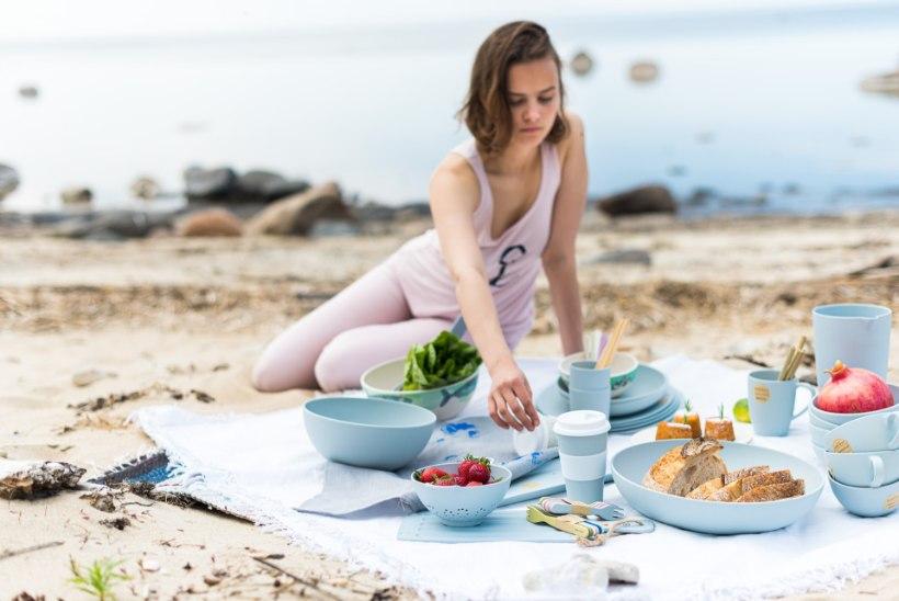 Nutikas ja keskkonnasõbralik Hollandi disain! Vali bambuskiu ja maisitärklise segust valmistatud lauanõud!