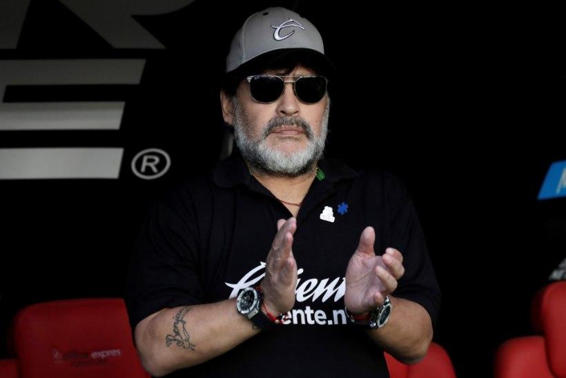 NOA ALLA! Diego Maradona loobub tervisehädade tõttu treeneritööst