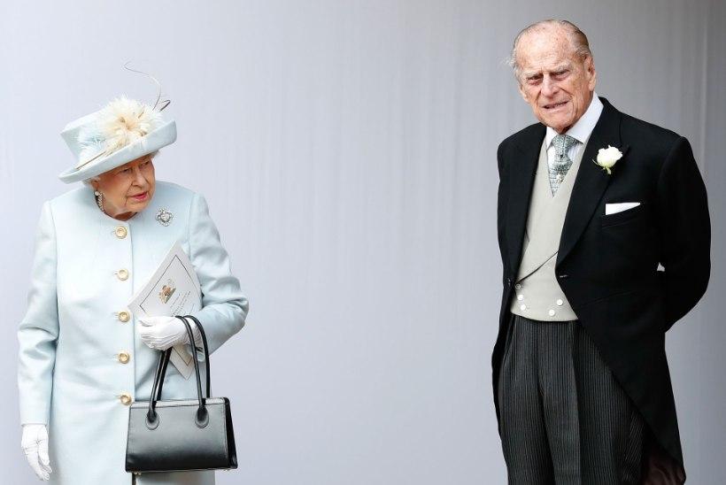 Elizabeth II ja prints Philip elavad enamjaolt lahus