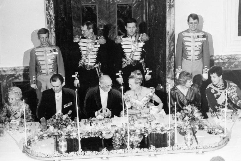 FOTOD | Tallinnasse saabuv Taani kuninganna Margrethe käis siin esmakordselt 27 aastat tagasi