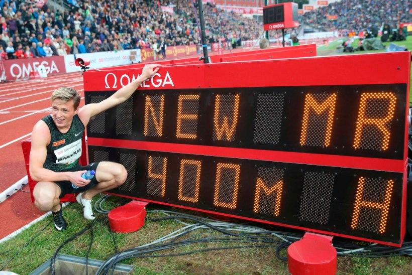 VIDEO | Rasmus Mägi konkurent purustas Euroopa rekordi: tahaksin nutta nagu väike tüdruk, see on mu elu parim päev!