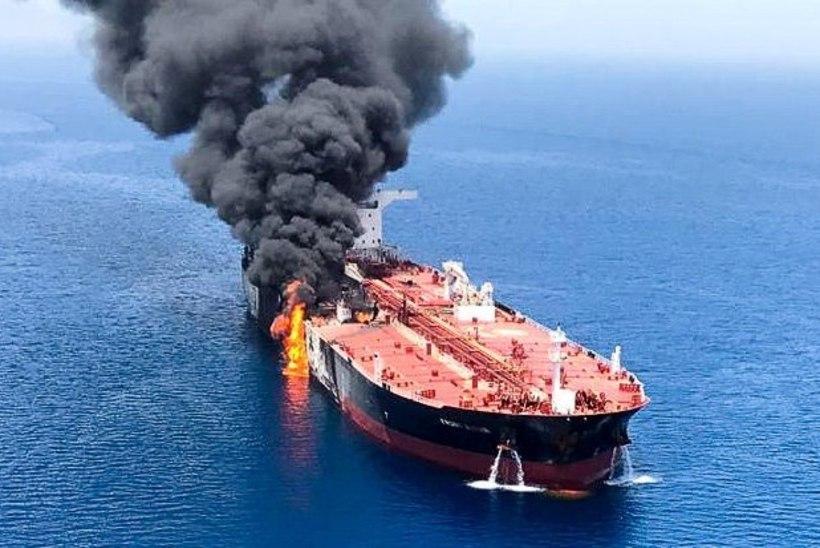 Omaani lahel rünnaku alla sattunud tankerid on teel AÜE sadamasse