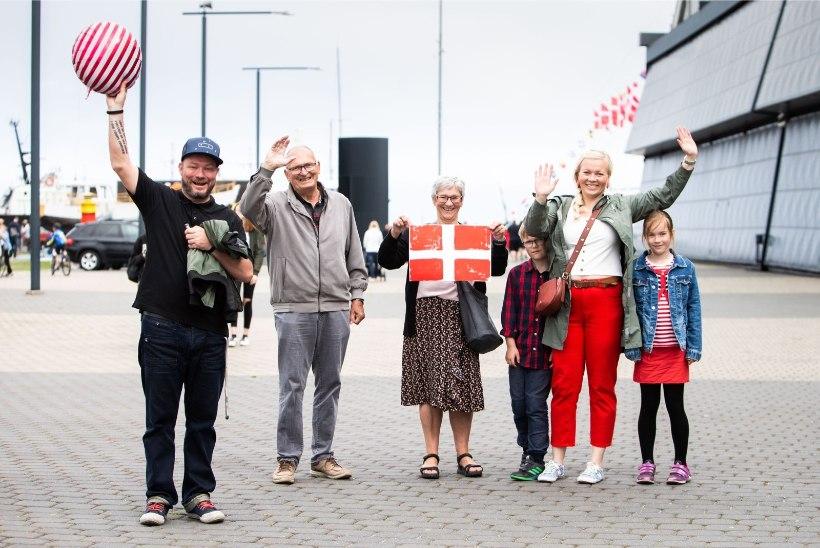 ÕL VIDEO JA GALERII | TÕELINE SUURSÜNDMUS: vaata, kuidas Taani kuninganna jahiga Tallinna saabus!