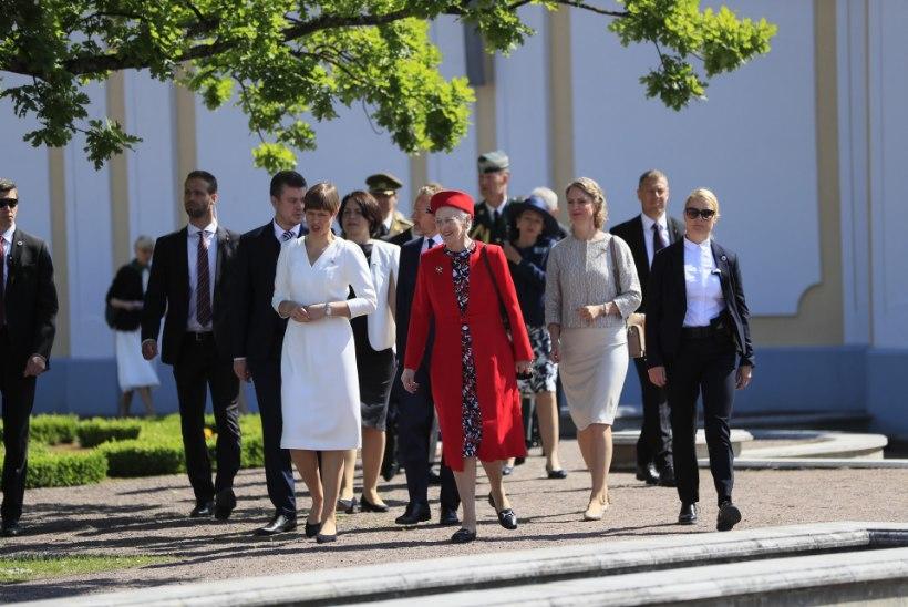 GALERII | Kuinganna Margrethe II avas Kadriorus näituse