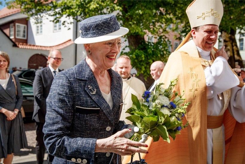 GALERII I Taani kuninganna külastas Tallinna Toomkirikut