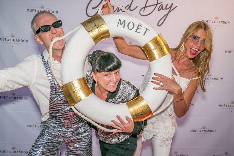 PILDID JA VIDEO | Staarid möllasid meeliküllastaval šampanjapeol Kadrioru luksusvillas