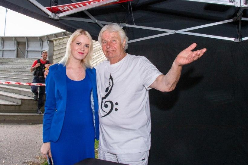 GALERII   Ivo Linna tähistas Kuressaare lossihoovis 70. sünnipäeva võimsa kontserdiga