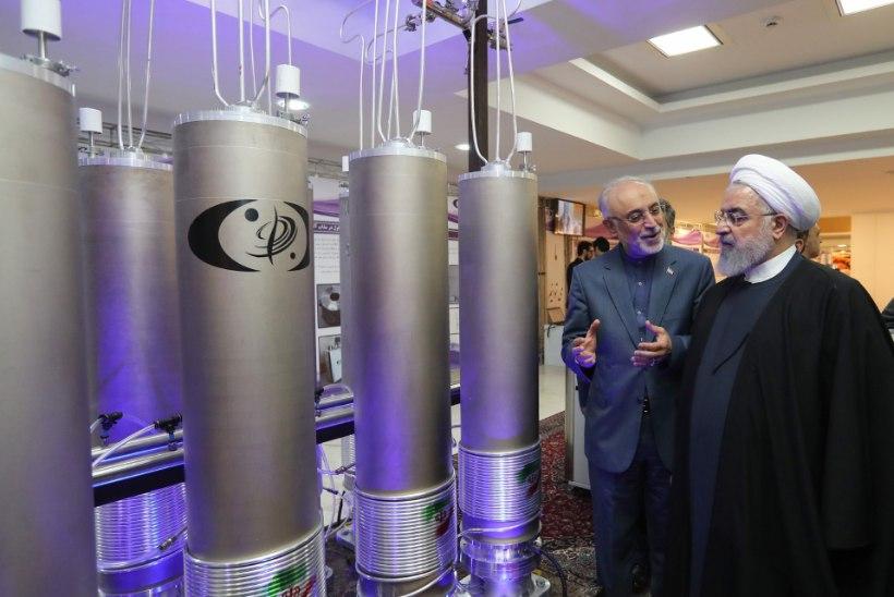 TUUMALEPPE RIKKUMINE: Iraan ületab juba juunis uraanivarude ladustamise piiri