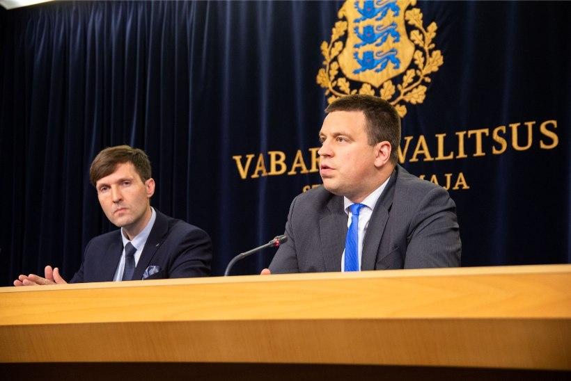 Jüri Ratas võttis juba reedel Martin Helme eriarvamuse Euroopast tagasi