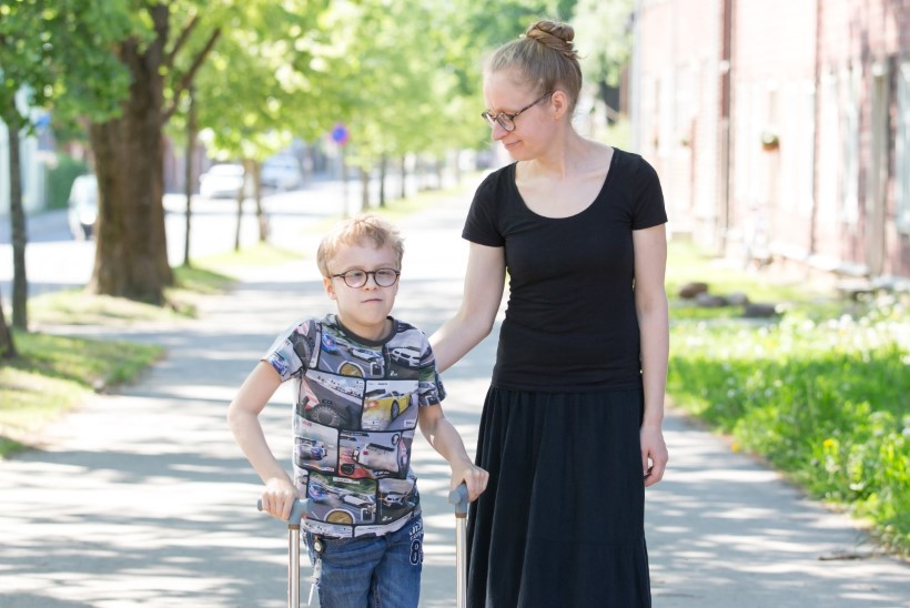 Riina Rammo: me ei osanud kahtlustada, et poeg arengus teistele järele ei jõua