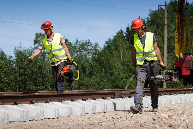 Taavi Aas: eelarve strateegia Haapsalu raudteed ei luba
