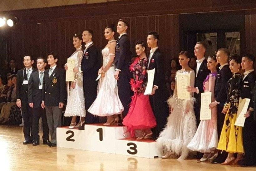 Eesti tantsijad noppisid taaskordse maailmakarika etapivõidu