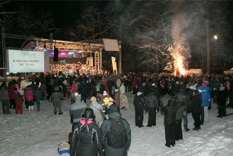 ERILISED LAULU- JA TANTSUPEOD: eestlased löövad lusti nii lumes kui ka maa all