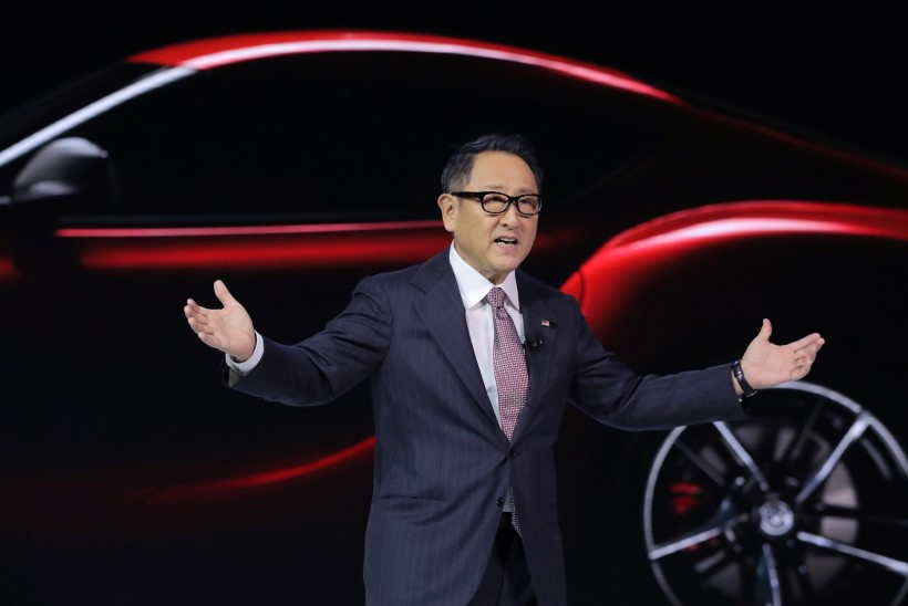 """Toyota president tegi erandliku pöördumise: """"Ja Ott... Ma ei unusta kunagi seda pettunud nägu, kui ta autost välja astus."""""""