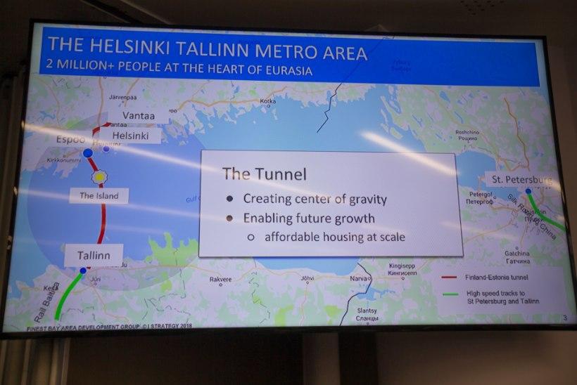 Tallinna-Helsingi tunnel Rail Balticuga ei ühendu. Projekt seisab valitsuse ja TTJA taga