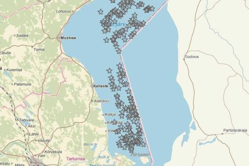 PEIPSI KORISTUSTALGUD: järvest tõmmati välja pea 700 hüljatud kalavõrku