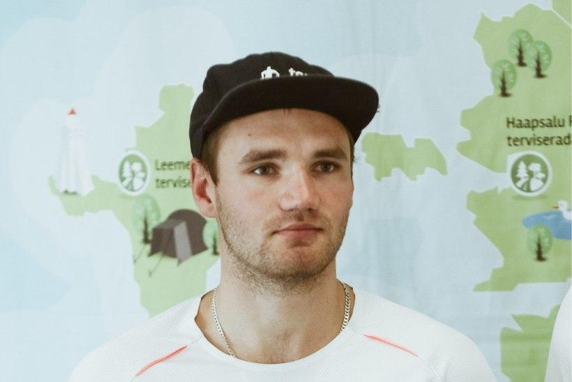 Suusasprinter Marko Kilp treenib Otepääl koos Venemaa ässadega