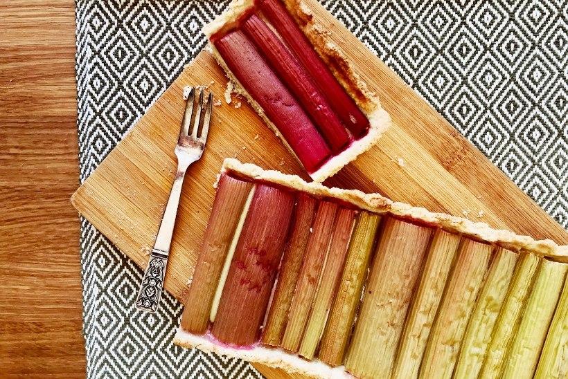 BLOGI | Maitsev kunstiteos: rabarberi-tartemandlikreemiga