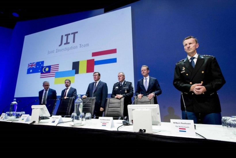 MH17 KATASTROOF: uurimisrühma teatel esitab Hollandi prokuratuur neljale kahtlusalusele mõrvasüüdistuse