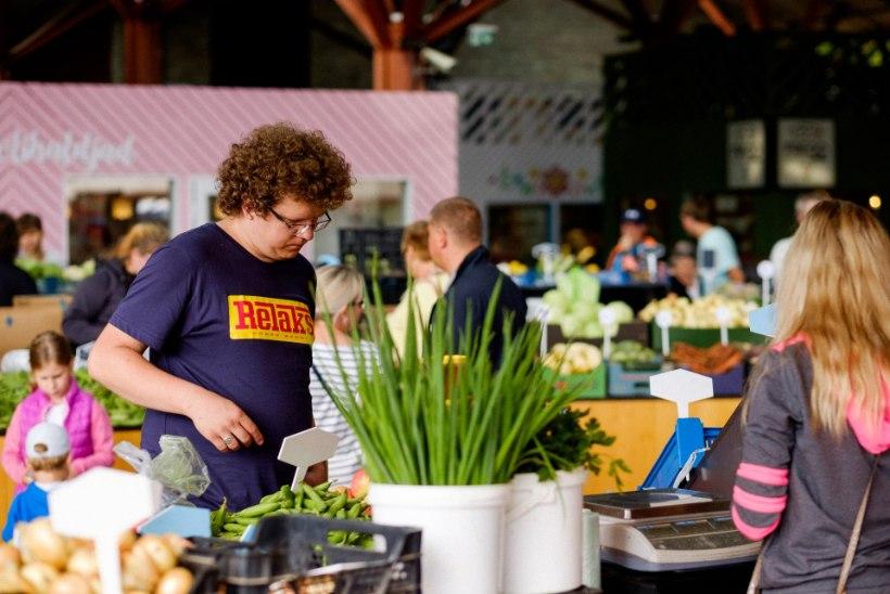 Balti Jaama Turult leiab põneva valiku värskeimat toidukraami!