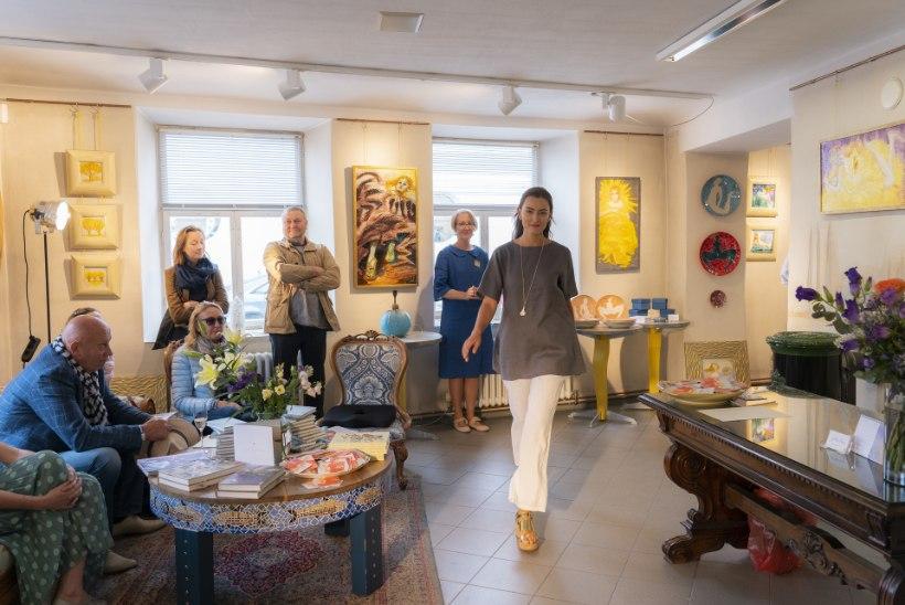 Epp Maria Galerii avas suvehooaja moedemonstratsiooniga