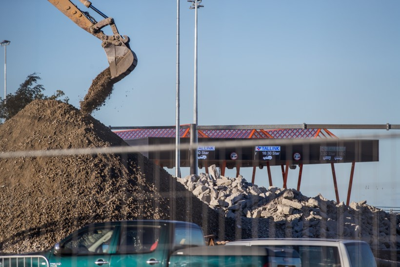 LIIKLUSSKEEM | Homsest algab Ahtri-Jõe ristmikul suur ehitus. Osad teelõigud suletakse