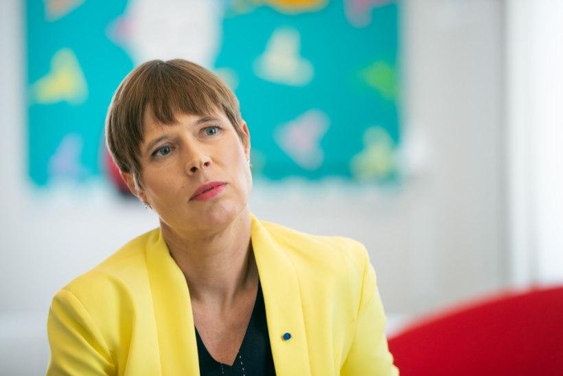 """President Kersti Kaljulaid: """"Mart, kuidas nüüd nii?"""""""