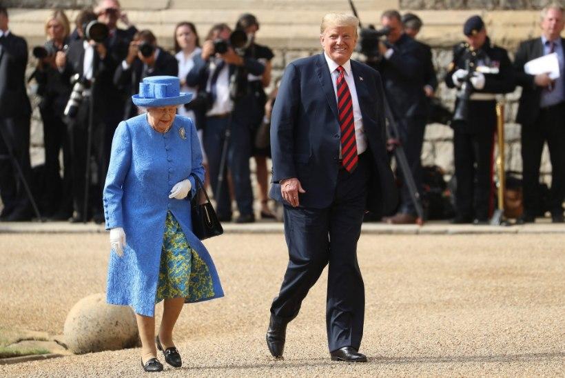 Ärritunud ja võitlusvalmis London ootab Trumpi