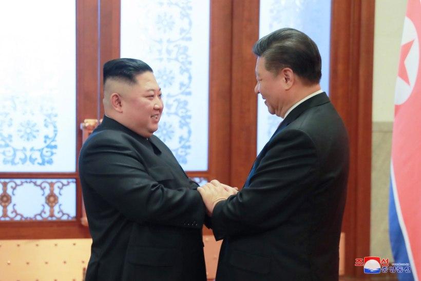 Hiina president on riigivisiidil Põhja-Koreas – viimati juhtus see 14 aastat tagasi
