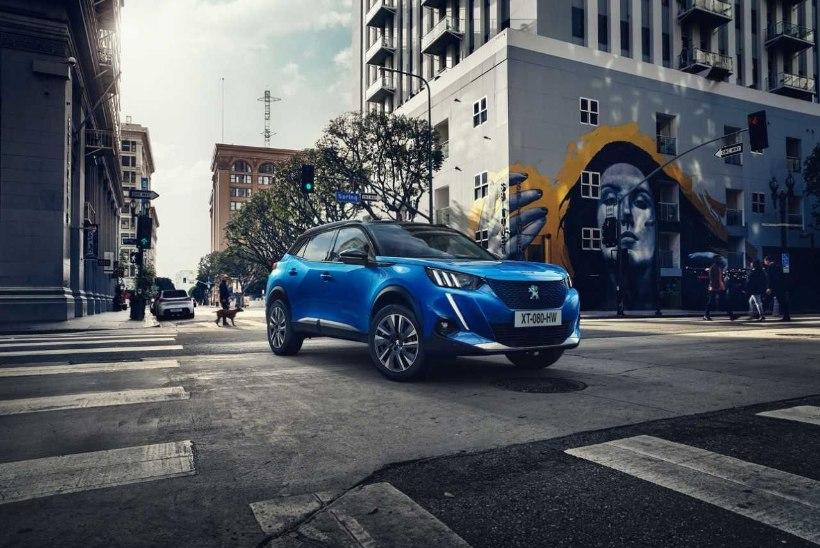 Uue põlvkonna Peugeot 2008 linnamaastur tuleb ka täiselektrilisena
