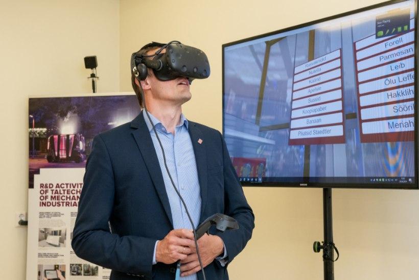 GALERII  | Ida-Tallinna Keskhaigla hakkab taastusravis kasutama virtuaalreaalsust