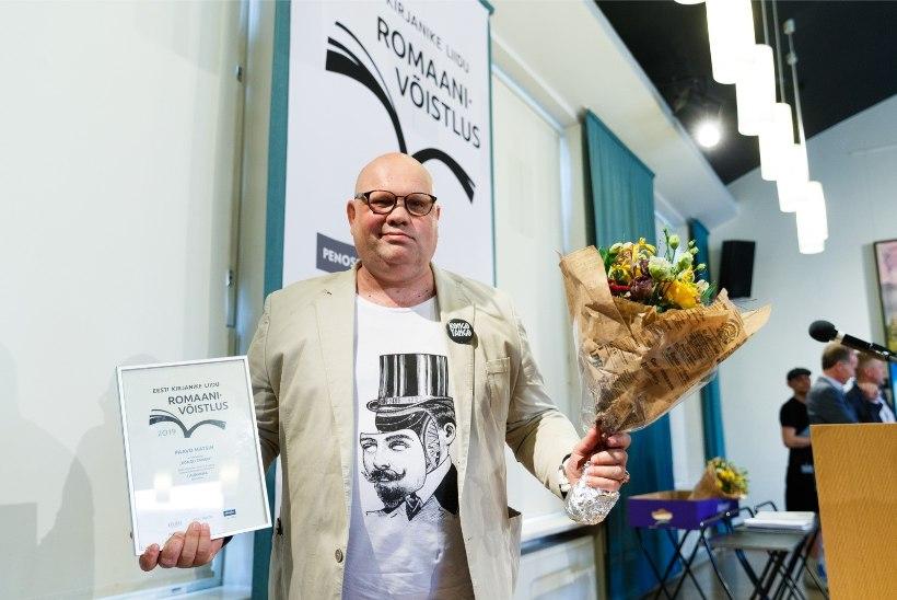 GALERII | Romaanivõistluse võitja: kirjandus ei ole sport, iga raamat leiab lugeja