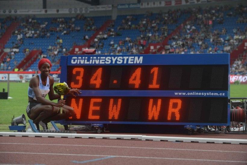 VIDEO | Fantastiliselt nobe Shaunae Miller-Uibo jooksis uue maailmarekordi
