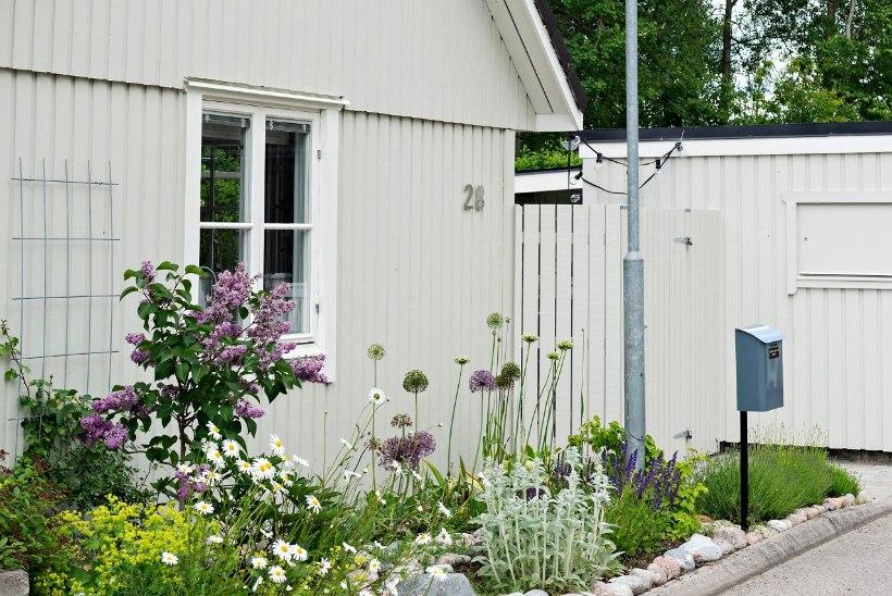 Pastelselt suvine maja