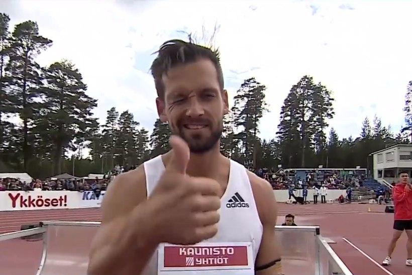 Magnus Kirt võimsast Eesti rekordist: oli täitsa hea võistlus, mõistus kontrollis viset