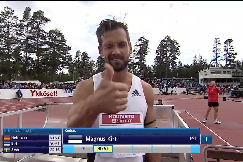 VIDEO | HULL MEES! Magnus Kirt uuendas jälle Eesti rekordit