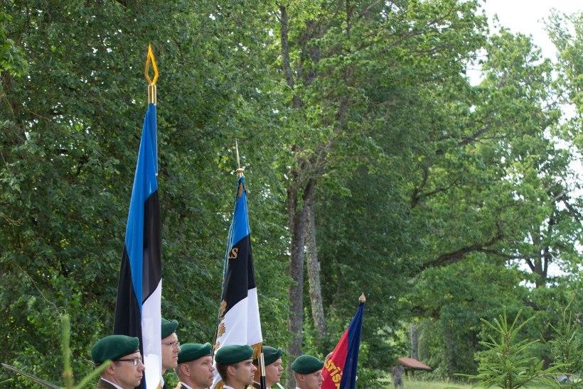 FOTOD | Lätis avati võiduka Skangali lahingu 100. aastapäeval mälestuskivi