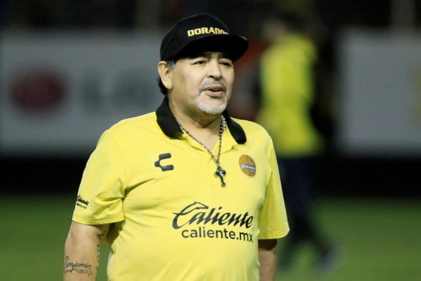 Maradona rahustas jalgpalliüldsust: inimesed valetavad, ma ei sure!