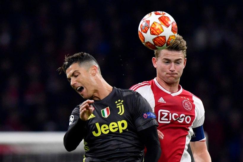 Noor Ajaxi talent võttis Ronaldot kuulda ja on liitumas Juventusega