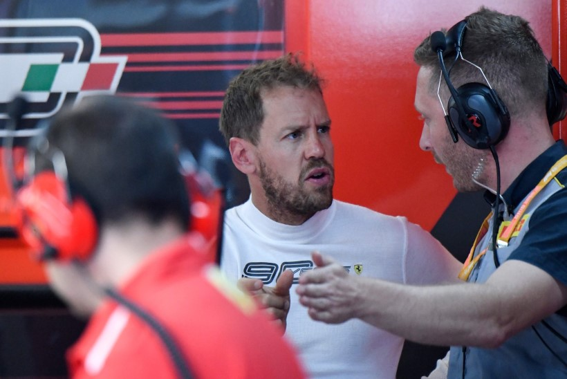 Maruvihane Vettel: F1 reeglites on liiga palju paragrahve, loodan, et nad põletavad need paberid ära