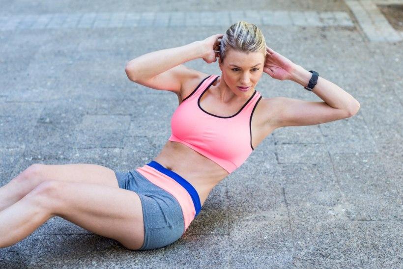 Kas kõhulihaseid võib iga päev treenida?
