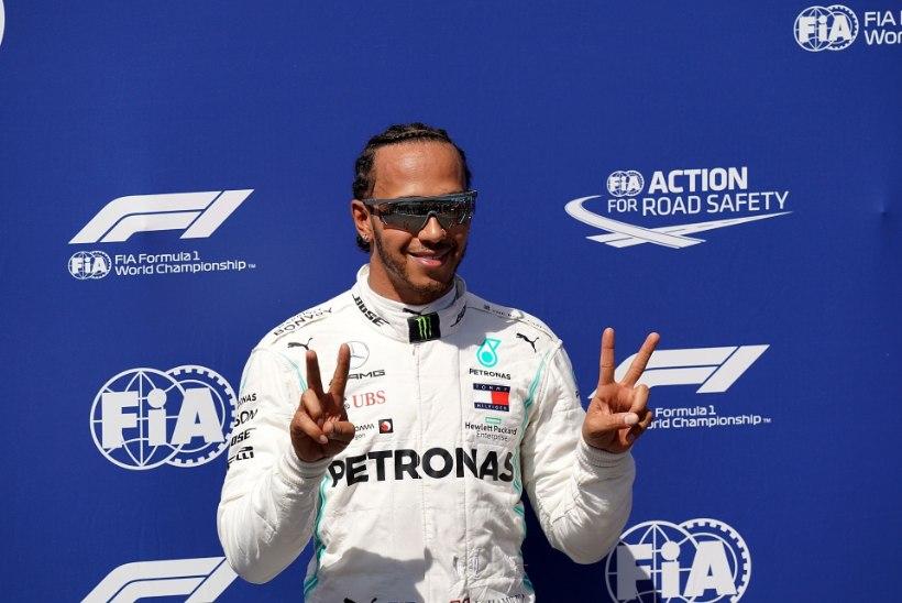 IGAV! Lewis Hamilton ja Mercedes jätkavad domineerimist