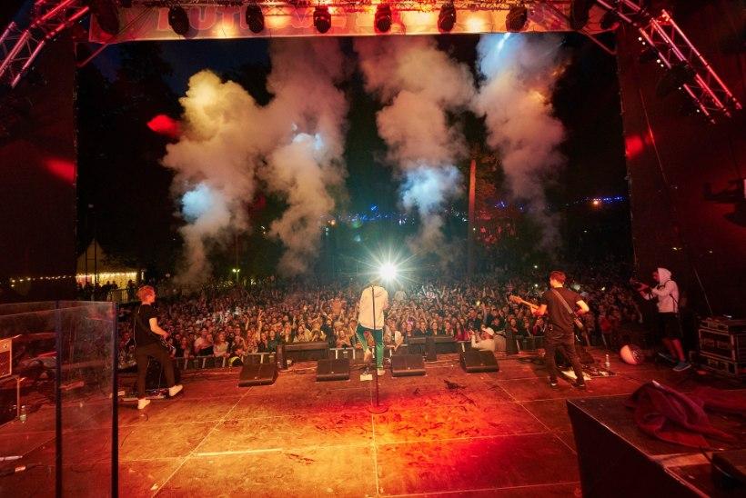 GALERII | Pühajärve Jaanitule pöörane avapäeva koos Nublu live-bändiga!