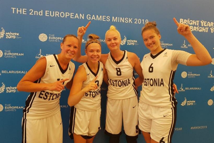 TUBLID! Eesti korvpallinaised võitsid Euroopa mängudelt hõbemedali