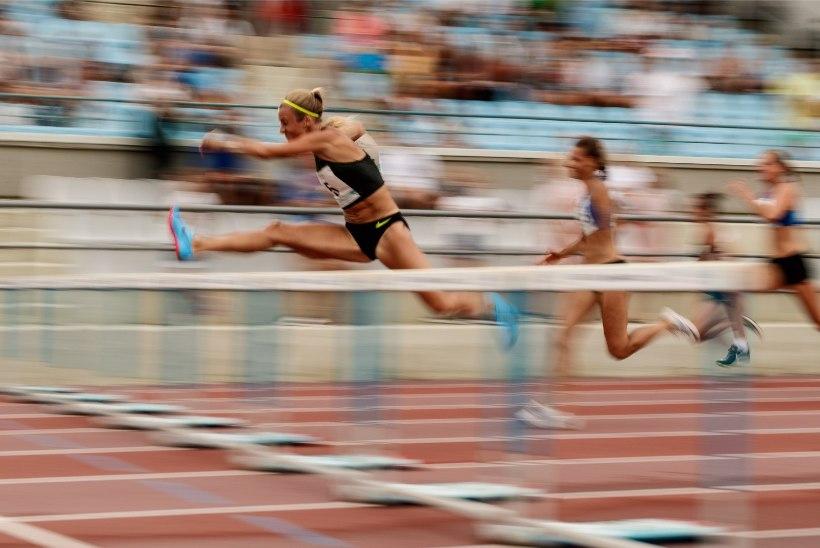Ühe isikliku rekordi püstitanud Grit Šadeiko kogus Talence'is korraliku punktisumma